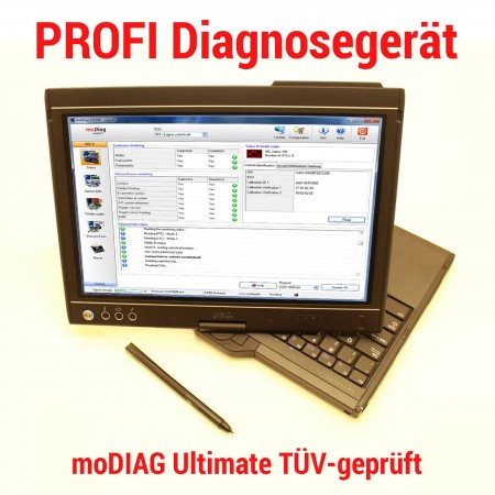 DIAGNOSEGERÄT PROFI  moDIAG ULTIMATE OBD2 KFZ