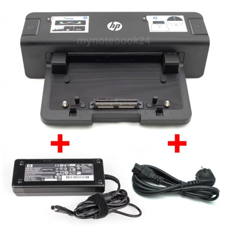HP Dockingstation Port Replicator HSTNN-I11X + Netzteil 120W