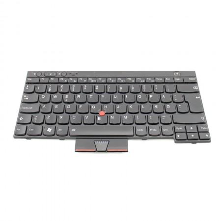 Lenovo Tastatur dänisch keyboard Danish 04W3072 T430 X230 W530 Backlight NEU