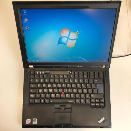 Lenovo ThinkPad T61 80GB HDD, 2GB Ram, Wlan, Bluetooth, Win 7