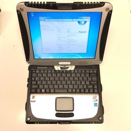 Panasonic Toughbook CF-19 Core 2 Duo U2400 160GB HDD 2,5 GB RAM