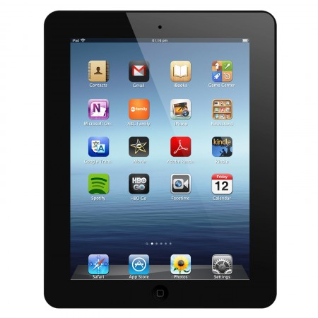 Apple iPad 4 32GB - Wi-Fi + Cellular Schwarz A1460 LTE