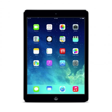 Apple iPad AIR 1 64GB - Wi-Fi + schwarz A1475 OVP
