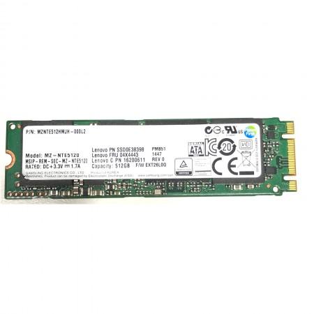 Samsung SSD Festplatte Harddisk 512GB, M.2 MZNTE512HMJH-000L2