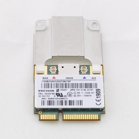Lenovo Thinkpad UMTS - 3G Modul Ericsson H5321 - FRU: 04W3786