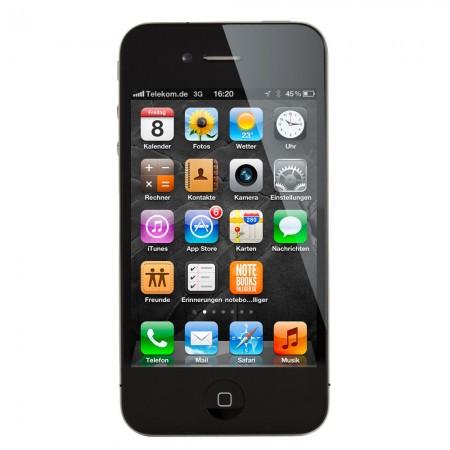 Apple iPhone 4 16GB A1332 Schwarz (Ohne Simlock)
