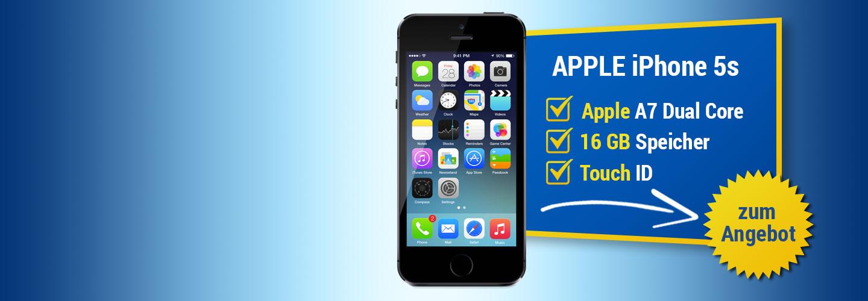 Angebot Apple iPhone 5s