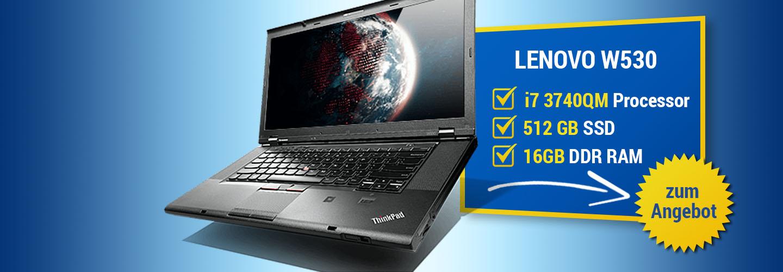 Angebot Lenovo ThinkPad W530