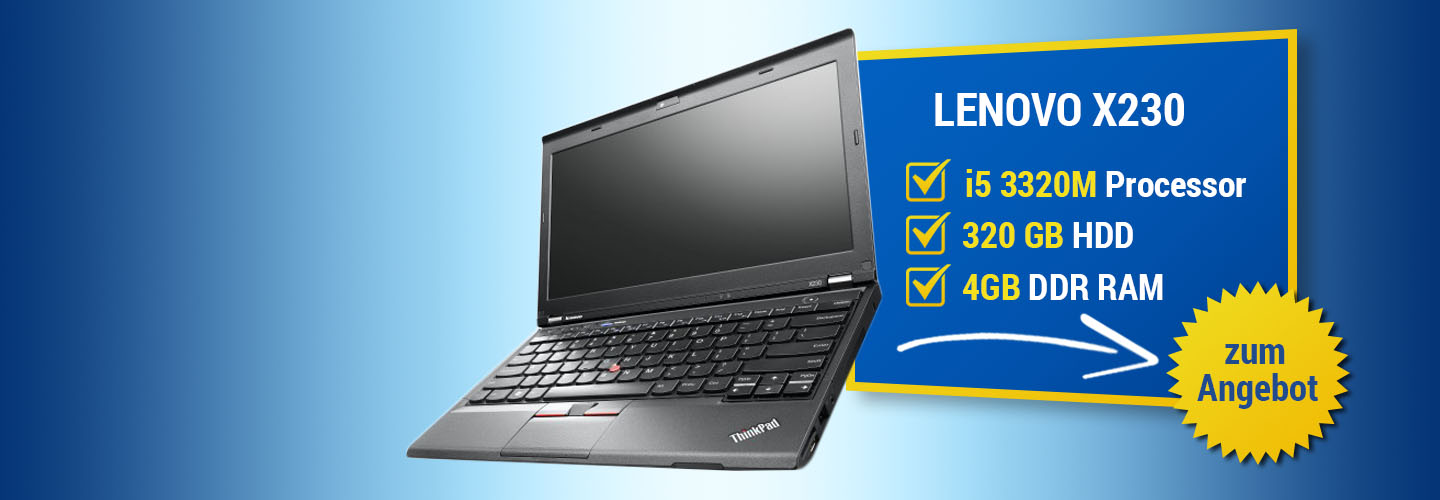 Angebot Lenovo ThinkPad X230