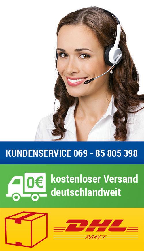 Kundenhotline Versandkostenfrei online shoppen