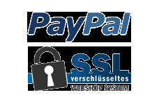mit PayPal zahlen und SSL Verschlüsselung